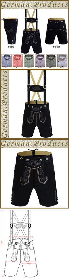 Lederhosen 163144: German Bavarian Oktoberfest Lederhosen Set Trachten Men Short Outfit Package Gp1 -> BUY IT NOW ONLY: $74.95 on eBay!