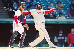 4/5/2016 at Progressive Field | David Ortiz homered and doubled on last career Opening Day, David Price fanned 10 in Red Sox debut (Photo by Jason Miller/Getty Images)