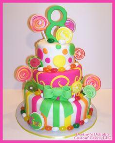 cute girl cake!
