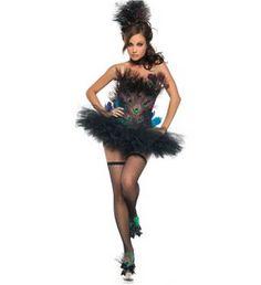 Sexy Halloween Costumes - Sexy Peacock Costume