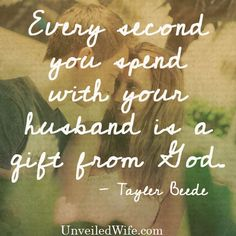 Don't Take Him For Granted --- I remember when my husband and I were dating, I dreamed of being able to spend every day with him. We lived about an hour apart, so seeing each other wasn't exactly convenient, especially with work and school. [...]… Read More Here http://unveiledwife.com/dont-take-him-for-granted/ #marriage #love