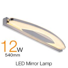34.12$  Buy here - http://aie3t.worlditems.win/all/product.php?id=32502155349 - Modern Bathroom Led Mirror Light 54cm 12W Indoor Waterproof Led For Bathroom Wall Sconce Lamp Apliques De Pared Luz  AC 85V-220V