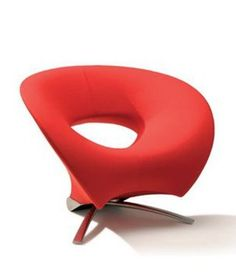 Club upholstered armchair LOOP Fora Form