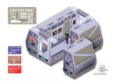 Defiant - cutaway by Paul-Muad-Dib on DeviantArt Star Trek Data, Star Trek Ships, Star Wars, Star Trek Tos, Star Trek Bridge, Starfleet Ships, Runabout Boat, Sci Fi News, Sci Fi Models
