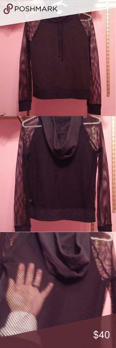 VS Rare Hoodie XS NWT XS  NWT  Mesh back and sleeves Victoria's Secret Other