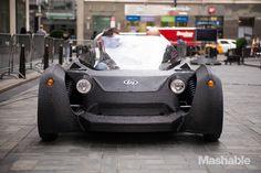 I Drove a 3D Printed Car