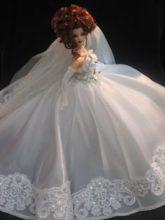 OOAK Barbie Bride.
