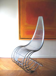 Rayment Wire Work furniture Chairs :: The Hero Chair--(Please Follow (2) Design-Modern-Furniture-Objects For New Pins)