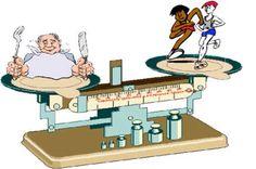 Lichaamssamenstelling verschillend, gewicht hetzelfde, gezondheidstoestand verschillend....