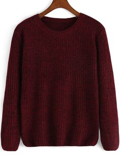 Time for knitwear again !Pick short pullover sweater for the ends of winter ,this loose red knit sweater can be a easy fix also at spring &fall .Click for more colors .