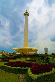 National Monument (MoNas) Jakarta, Indonesia