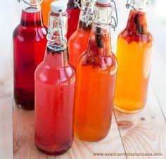 Fermentación: Cómo elegir los utensilios para la kombucha Kimchi, Hot Sauce Bottles, Healthy Recipes, Healthy Food, Paleo, Inspirational Quotes, Foods, Vegetarian, Kombucha Recipe