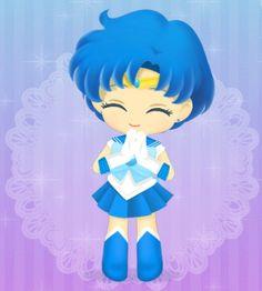 Sailor Moon Drops, Sailor Moon Stars, Cartoon Network, Canal Panda, Chibi, Sailor Moom, Sailor Moon Wallpaper, Moon Illustration, Sailor Mercury