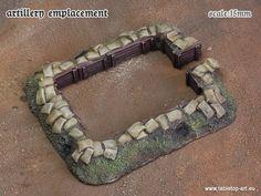 Artillery emplacement | 15mm