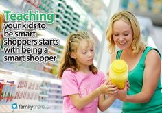 How to teach your kids to be smart shoppers