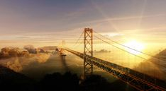 Surreal Suspension Bridge Amazing Royalty-Free Pictures at Great Prices. We hope you will enjoy them as much as we do. Come see them today. Suspension Bridge, Royalty Free Pictures, Come And See, Image Categories, Image Photography, Golden Gate Bridge, Surrealism, This Is Us, Amazing