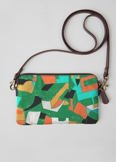 Statement Clutch - Chickadees by VIDA VIDA GWHZTJ