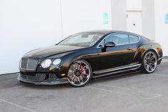 Bentley Continental with GFG Atlantic wheels