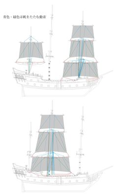 Rigging for the Black Pearl