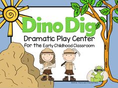 Dinosaur Dramatic Play Center from Play to Learn Preschool