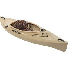 "Heritage Feather Lite Angler 9'6"" Sit-In Fishing Kayak $269 Lots of room, sit-in, rod holders, and paddle holder"