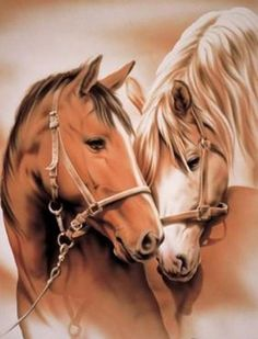 fantasy horses by tamika Pretty Horses, Horse Love, Beautiful Horses, Animals Beautiful, Cross Paintings, Animal Paintings, Horse Pictures, Animal Pictures, Arte Equina