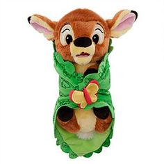 Disney's Babies Bambi Plush Doll and Blanket - Small - 10'' | Disney StoreDisney's Babies Bambi Plush Doll and Blanket - Small - 10'' - So cute and irresistible, you'll be fawning all over the Young Prince of the Forest and his leafy plush blanket. Soft baby Bambi will leave you ''twitterpated.''