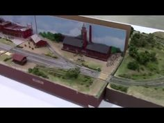 15.6 N-scale Mile Record T-TRAK Layout - YouTube