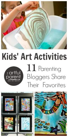 Kids Art Activities :: 11 Parenting Bloggers Share Their Favorites