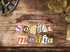 #SocialMedia ist kein Fremdwort, aber es fehlt Ihnen an Zeit und Know-how? Wir stehen Ihnen auch in diesem #Marketing Bereich gerne beratend zur Seite und helfen Ihnen bei der Strategieentwicklung und der Profilerstellung in den wichtigen sozialen #Netzwerken. Mehr Infos dazu, sowie unser Impressum gibt es auf www.BlickeDeeler.de #socialmedia #corporate #design #networking