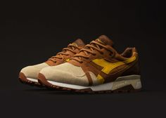 """UBIQ x Diadora """"Whiz Wit"""" Inspired by Philly's Cheesesteak Sneakers Looks, Cheap Sneakers, Best Sneakers, Sneakers Fashion, Fashion Shoes, Men's Fashion, Fashion Accessories, Fashion Trends, New Shoes"""