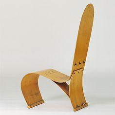 von Thaden Plywoold Chair, ca. Vitra Design Museum, Chair Design, Furniture Design, Ergonomic Computer Chair, Composite Adirondack Chairs, Plywood Chair, Love Chair, Eames Chairs, Bar Chairs
