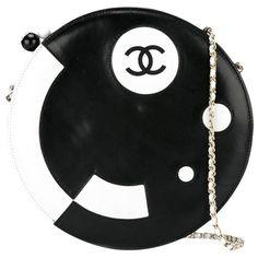Collector Chanel Round Lambskin Shoulder Bag | 1stdibs.com