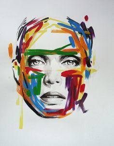 Sandra Chevrier, Imagination Art, Call Art, Colorful Artwork, Art World, Doodle Art, Impressionist, Art Inspo, Abstract