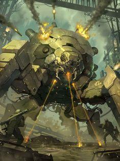 rhubarbes: applibot - galaxy saga by Reza ilyasa. Cyberpunk, Techno, Arte Robot, Robot Concept Art, Ex Machina, Steampunk, Robot Design, Sci Fi Characters, Mechanical Design
