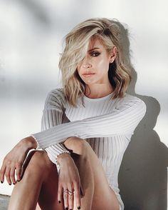 Kristin Cavallari Short Hair Lob Summer Cut