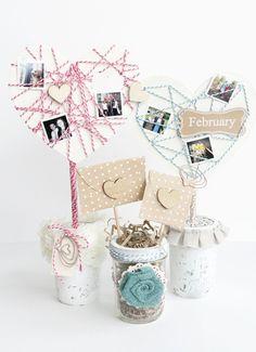 20 Inspiring Paper Craft Ideas for Valentine's Day Paper Crafts, Diy Crafts, Party Props, Party Ideas, Holiday Centerpieces, Heart Crafts, Happy Heart, Valentine Day Crafts, Photo Craft