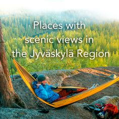 You can find many places with incredible views in the Jyväskylä Region, at the heart of Finnish Lakeland. Here we listed few of them. Photo: Eemeli Nättinen