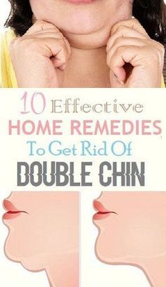 10 Amazing Home Remedies To Remove Double Chin