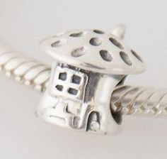 Mushroom pandora charm-- @Ainsley Elizabeth @Corrine Elizabeth  so cute
