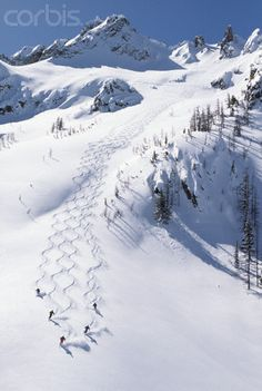 Skiing in the Cascade Range - Washington vacation photos? http://www.photoatlarge.com/shop/custom.aspx/home