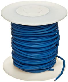"""GXL Automotive Copper Wire, Blue, 20 AWG, 0.032"""" Diameter, 100' Length (Pack of 1) by Small Parts. $18.26. GXL insulation is therosetting (will not melt) crosslink Polyethylene temp range -40 to 125 C, blue color"""