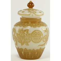 Peking Glass Jar with Cover Sold $2,250.
