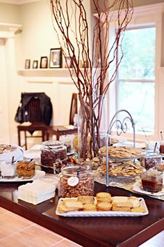 Wedding At The Bowers My Pictures Snack Tablestea
