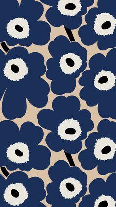 Iphone Wallpaper Vsco, Iphone Background Wallpaper, Apple Wallpaper, Love Wallpaper, Pattern Wallpaper, Marimekko Wallpaper, Aesthetic Wallpapers, Cute Wallpapers, Flower Art