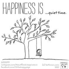 ahhh...quiet time...