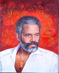 Puerto Rican Men, Puerto Rican Culture, Musica Salsa, Salsa Music, Puerto Rico History, Afro Cuban, Latin Artists, Music Symbols, Cartoon Sketches