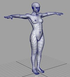 Making of Anne - Joel Mongeon Portfolio Female Reference, Body Reference, Anatomy Reference, Reference Images, Character Poses, Character Modeling, 3d Character, Character Design, Wireframe