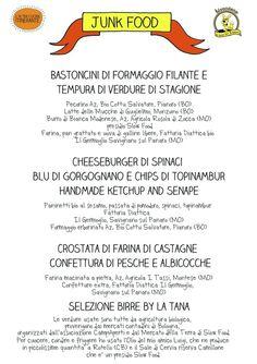 Junk food bio, sano e vegetariano 27-03-13 Tana del Luppolo