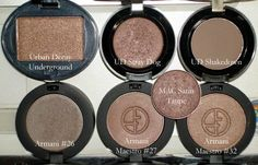 The Beauty Look Book: Color Focus: Taupe Eyeshadows